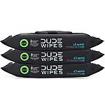 144 Count DUDE Wipes Flushable Wet Wipes Dispenser (Unscented) $7.15