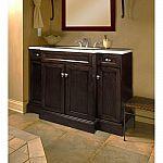 Home Decorators Collection Teagen 42 in. W Bath Vanity in Dark Espresso with Engineered Stone Vanity Top in Beige $189 (80% Off) and more