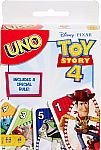 UNO Toy Story 4 Card Game $3.94