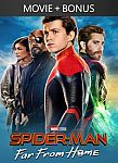 Spider-Man: Far From Home + Bonus [4k UHD] $12.99