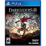 GameStop - Darksiders III (PS4/Xbox One) $10 (Org $30) & More + Free Shipping
