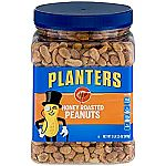 Pack of 2 Planters Dry Honey Roasted Peanuts, 34.5 Ounce $7.42