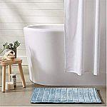 2-Pack AmazonBasics Striped Memory Foam Bath Mat $6.83