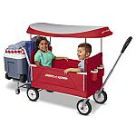 Radio Flyer, 3-in-1 Tailgater Wagon with Canopy, Folding Wagon $65.50