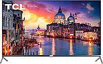 "TCL 65"" 65R625 4K UHD QLED HDR Roku Smart TV $700 & More"