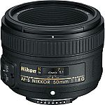 Nikon Lenses (Refurbished): 50MM F1.8G $155, 35MM F1.8G dx $155 & More
