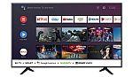 "Hisense 58"" Class 4K Ultra HD (2160p) HDR Android Smart LED TV $280"