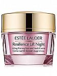Estee Lauder Resilience Lift Night Lifting & Firming Face and Neck Crème $55 (42% off) & More