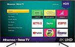 "Hisense 65"" Class LED R7 Series 2160p Smart 4K UHD Roku TV with HDR $399"