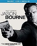 Jason Bourne [Blu-ray + DVD + Digital] $3.99