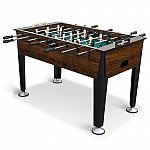 "EastPoint Sports Newcastle Foosball Table Soccer, 54"" x 29.5"" $99 (50% Off)"