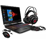 "HP Omen 15.6"" FHD Gaming Laptop (i7-9750H 16GB 256GB SSD GTX 166Ti) + Omen Headset and Mouse $949"