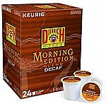 96-Count Diedrich Morning Edition Blend Decaf K-Cup Pods $11.35 or Less