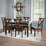Edgewater 7-Piece Dining Set by Abbyson Living $499
