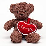 Bears For Humanity 12in I Love You Brown Bear $4.81 and more