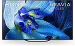"Sony BRAVIA XBR A8G Series 65"" OLED 4K UHD TV with HDR and Alexa Compatibility - 2019 Model $1998"