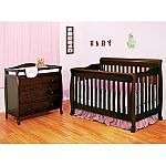 AFG Alice 4-in-1 Crib and Grace 3-Drawer Changer $298