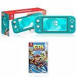 Nintendo Switch Lite Turquoise + Crash Team Racing $199.99