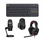 Logitech K400 Plus Wireless Touch TV Keyboard $18 & Logitech G230 Stereo Gaming Headset w/ Mic $20 & More
