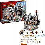 LEGO Marvel Super Heroes Avengers: Infinity War Sanctum Sanctorum Showdown 76108 Building Kit $69.99