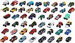 50-Pack Matchbox Classic Cars Assortment $30
