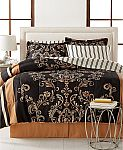 8-Piece Reversible Comforter Sets (Any size) $28