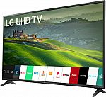 "LG 60"" Class LED Series 2160p Smart 4K UHD TV with HDR $400"