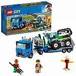 LEGO City Great Vehicles Harvester Transport Building Kit $16.80