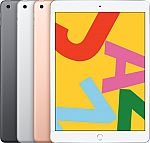 "32GB Apple iPad 10.2"" Retina Display w/ WiFi (Latest Model) $250, 128GB $330"