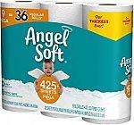 36-Count Angel Soft Mega Roll Toilet Paper $20.47