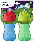 Philips Avent My Bendy Straw Big Kid Cup, 10oz, (2 PacK) $5.59