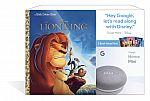Google Home Mini + 3 Disney Little Golden Book $25
