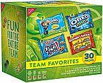 30-Pack Nabisco Team Favorites Cookies & Crackers Variety Pack $6 & More