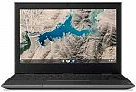 "Lenovo 100e 11.6"" HD Chromebook   (MT8173C 4GB 16GB) $90"