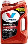 Valvoline MaxLife High Mileage oil SAE 10W-30 Synthetic Blend Motor Oil 5 QT $10 (68% Off)