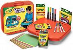 Crayola Create 'N Carry 75pc Art Kit $9.74
