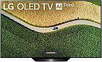 """LG 55"""" B9 4K OLED TV w/ 5yr Warranty $1199 + $100 Costco Card"""