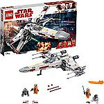 LEGO Star Wars X-Wing Starfighter 75218 Star Wars Building Kit (731 Pieces) + LEGO Green Baseplate Supplement $44.96