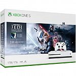 Xbox One S 1TB Console – Star Wars Jedi: Fallen Order Bundle $200