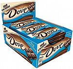 18-Count 0.65-oz DOVE 100 Calories Milk Chocolate Candy Bar $4.50 + Free Shipping