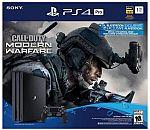 PlayStation 4 Pro 1TB Call of Duty: Modern Warfare Bundle $317