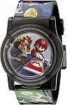 Nintendo Kids' NMK3403 Digital Display Analog Quartz Multi-Color Watch $2 (Add-on item)
