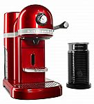 KitchenAid Nespresso Espresso Maker with Milk Frother, KES0504 $179.99