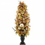 48 in. Artificial Maple Leaves Porch Tree $37.25 (75% Off) + Free Shipping