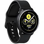 Samsung Galaxy Watch Active (International, Black) $149.99
