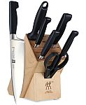 J.A. Henckels Zwilling Four Star 8-Pc Block Set $149.60 + $45 Back & More