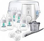 Philips Avent Anti-colic Baby Bottle with AirFree vent Gift Set $35.57 (Org $100)