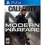 Call of Duty: Modern Warfare (Xbox One or PS4) $38