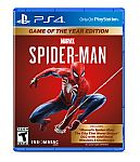Marvel's Spider-Man, Game of the Year Edition, Sony, PlayStation 4 $15 Shipped