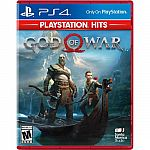 God of War - PlayStation 4 $9.99